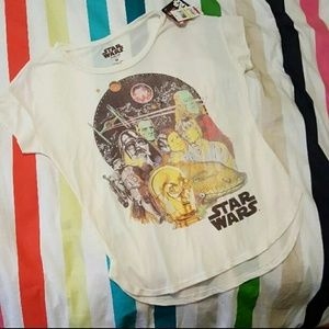 🤺NWT Star Wars Studded Tissue T-Shirt, M